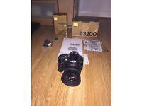 Nikon D3200 SLR Digital Camera - Nikkor AF-S DX 35mm f/1.8G Lens