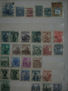 Selling My Stamp Collection--Austria Lot - $80