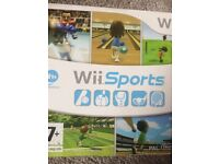Wii console and Wii board
