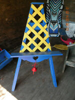 garden flower pot easel