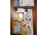 Medela electric breast pump and a lot extra