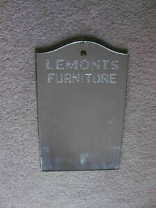 Original Lamonts furniture store mirror 10 x 14 inches  $28