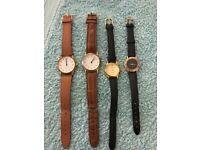 9 x vintage watches
