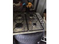 Aeg gas stainless steel 4 burner Hob