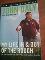 John Daly autographed book