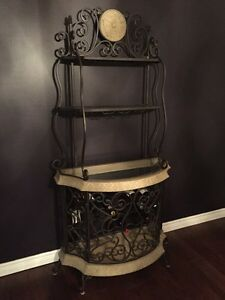 Wrought Iron Wine Rack  Oakville / Halton Region Toronto (GTA) image 1