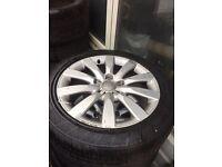 17inch audi alloy wheels