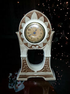GERMAN MADE PORCELAIN CLOCK