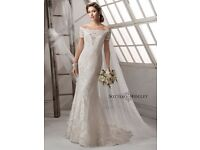 Sottero & midgley gown size 12 .let out to size 14