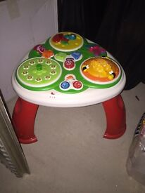 Chicco play table