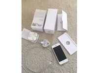 Unlocked iPhone 5 silver 32 GB
