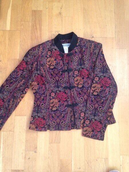 Women's floral jacket