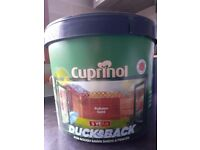 Cuprinol Ducksback 9 Litres, Autumn Gold