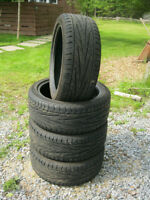 4 Exclaim 215/45 ZR 17, 87W Summer tires.