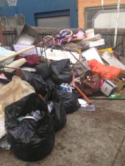 Rubbish removal &  scrap metal collection and demolition services