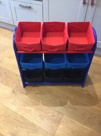 Spider-Man storage shelf/tidy