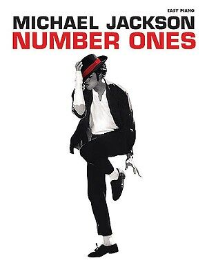 Michael Jackson Number Ones Sheet Music Easy Piano Book NEW 000322301