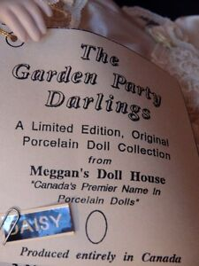 Meggan's Collectors Canadian Procelain Handmade Doll (Daisy) London Ontario image 8