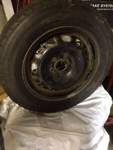 Winter tires Ford Focus 375$ obo London Ontario image 1