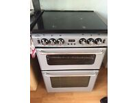 Gas hob, grill and convection oven