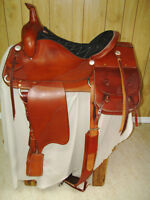 New Custom Western Saddle with the works