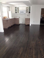 """WIDE-PLANk flooring - solid - 8"""" wide  free deliv on Wednesday!"""