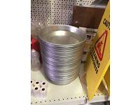 """Aluminium deep pans 9"""" 12"""" 14"""""""