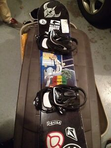 Sims snowboard and K2 Boa boots size 8.5