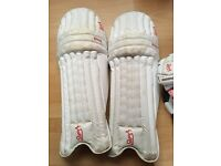 Kookaburra Bubble Star batting pads - men's right hand