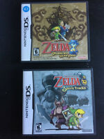 NDS Nintendo DS Jeux Games Zelda Phantom Hourglass Spirit Tracks
