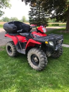 2010 Polaris Sportsman 500HO 4x4 with Ownership