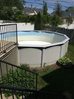 Swimming pool 18 feet + pump +  accessories - Great Deal