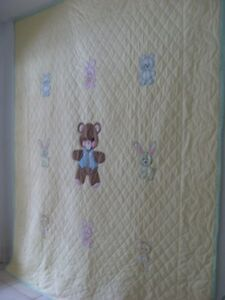 Hand Made Child's Quilt