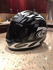 ARAI signet Q mask black helmet casque XL