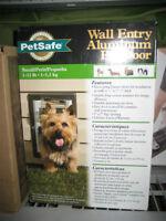 New small pet door