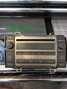 STOCK CD PLAYER FOR A 2009 TOYOTA MATRIX
