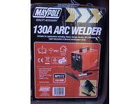 New 130a arc welder