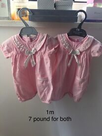 Baby girl twin clothes