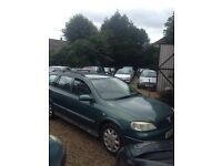 X reg vauxhall astra estate automatic 10 month mot