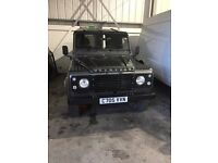 Restored 1986 Land Rover 90 px