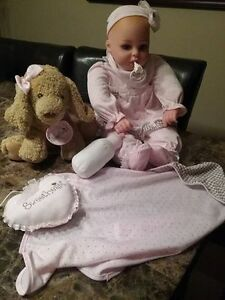 "18"" Collector Baby Doll Playset with Accessories"
