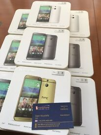 Brand new unlocked sim free HTC One M8 sealed box with full new accessories on sale