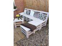 Garden Sofa - made of pallets