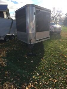 Mint 2008 Hallmark 4 sled trailer for sale  Belleville Belleville Area image 1