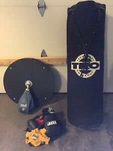 Heavy bag/speed bag/gloves & wraps  Kitchener / Waterloo Kitchener Area image 1