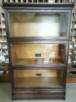 Antique Mission Oak 3 shelf Bookcase