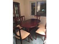 Macdonagh solid mahogany dining table