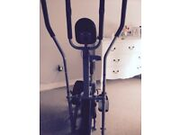 Exercise bike and cross trainer