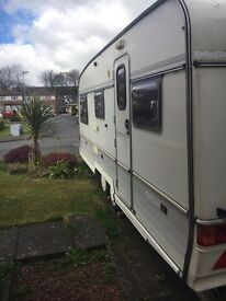 Touring caravan complete ready to go.