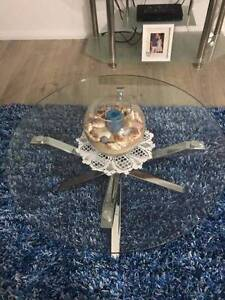 Glass Coffee Table Horningsea Park Liverpool Area Preview